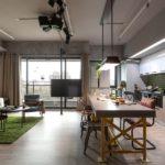 Mieszkanie w Kaohsiung, Taiwan | House Design … kolorowe mieszkanie