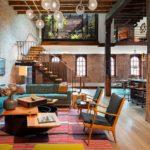 Loft w NY | Andrew Franz … wnętrza loftu